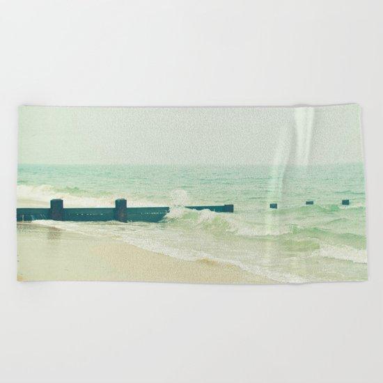 Sea Groyne Beach Towel