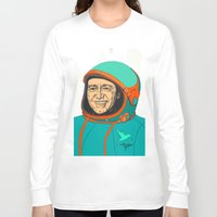 kevin russ Long Sleeve T-shirts featuring Kevin Spacey by IvaDim