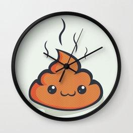 Happy crap! Wall Clock