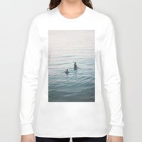 suits Long Sleeve T-shirts featuring the suits by KNIVESINMYEYES