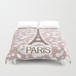 Paris: City of Light, Eiffel Tower Duvet Cover