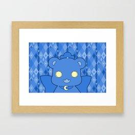 Monochromatic Kuma Kureha Framed Art Print