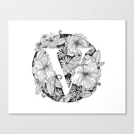 Flower V Canvas Print