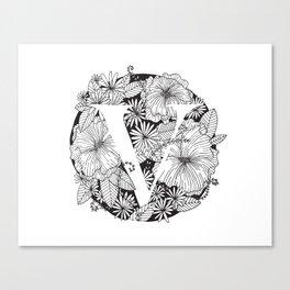 Flower V Canvas Print