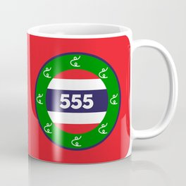 Thai flag roundel  555  HA HA HA Coffee Mug