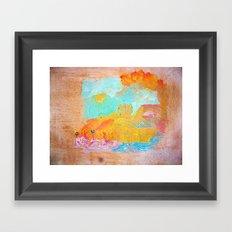 Rafoj Framed Art Print
