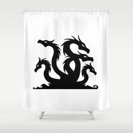 Hydra Silhouette Shower Curtain