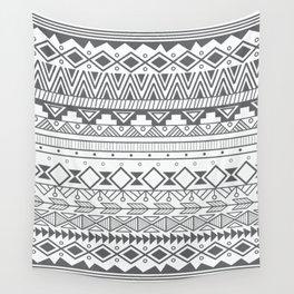 Aztec pattern 004 Wall Tapestry