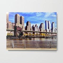 Gantry - NYC Metal Print