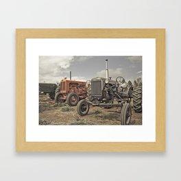 Tractor Show Framed Art Print