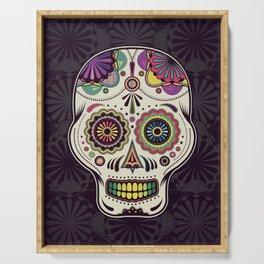 Sugar Skull Art Serving Tray