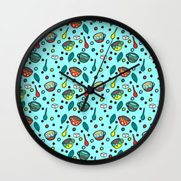 True Tea Wall Clock