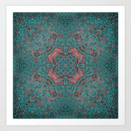 magic mandala 34 #mandala #magic #decor Art Print