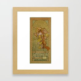 Ionic Asterion Framed Art Print