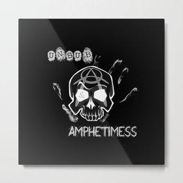 Unsub & Amphetimess Metal Print