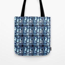 Savannah Scrollwork in Blue Tote Bag