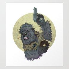 Wolfcop Art Print