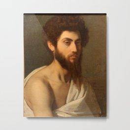 Alexandre Cabanel - Un Jeune romain Metal Print