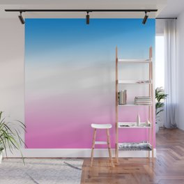 Trans Pride Ombre Wall Mural