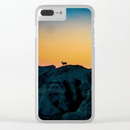 Shadowed Sheep Clear iPhone Case