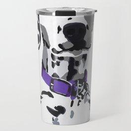 Winnie in purple Travel Mug