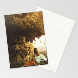 """The Wisdom Tree""  Stationery Cards"