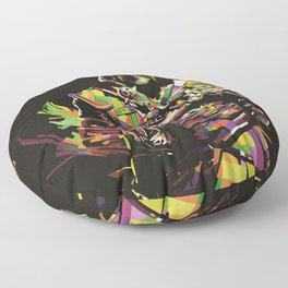 Assassin's Creed In Anomali WPAP Floor Pillow