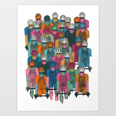 Pack (Peloton) Art Print
