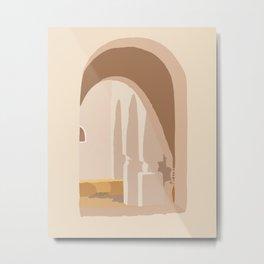 Window in marrakech #abstract #digitalart Metal Print