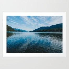 Beautiful Lake Art Print