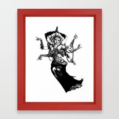 Goddess - Kali Framed Art Print