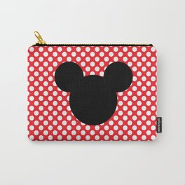 Mouse Silhouette Carry-All Pouch