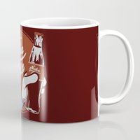 fallout Mugs featuring Nuka Cola Fallout drink by Krakenspirit