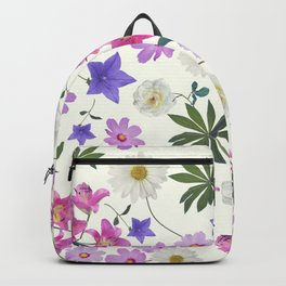 seamless  floral pattern . Endless texture for your design Backpack