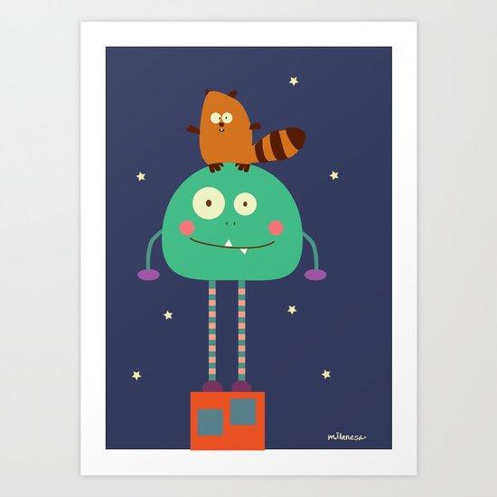 Moncho Art Print