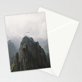 Flying Mountain Explorer - Landscape Photography Stationery Cards