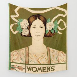 1895 Buffalo Courier for women  New York Wall Tapestry
