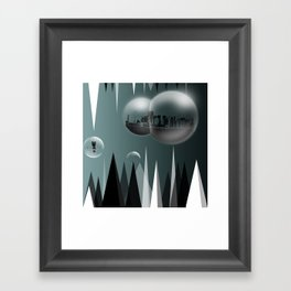 Buble Framed Art Print