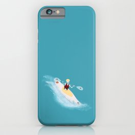 Whitewater Willy iPhone Case