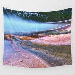 Sulfur Mist Wall Tapestry