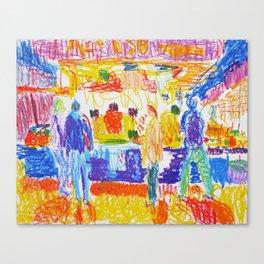 La Boqueria I Canvas Print