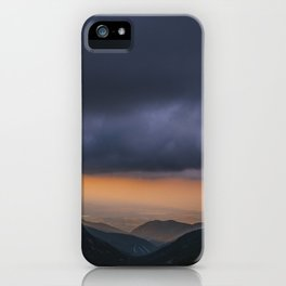 Sunset is my favorite color iPhone Case