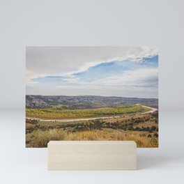 Badlands, Theodore Roosevelt NP, ND 23 Mini Art Print