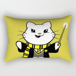 Wizardkitty Badger House! Rectangular Pillow