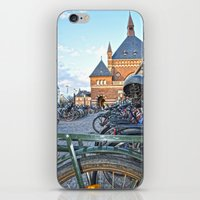 bicycles iPhone & iPod Skins featuring bicycles by  Agostino Lo Coco