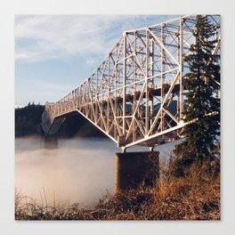 The Bridge of the Gods Sunset Canvas Print