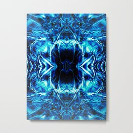 Warp Metal Print
