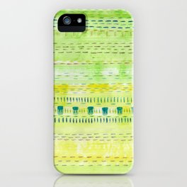Meadow Stitch iPhone Case