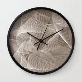 Abstract pattern 12 Wall Clock