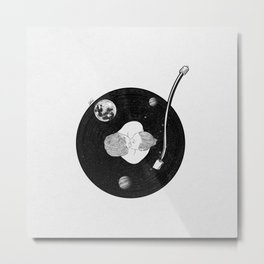 Let's play our favorite note. Metal Print